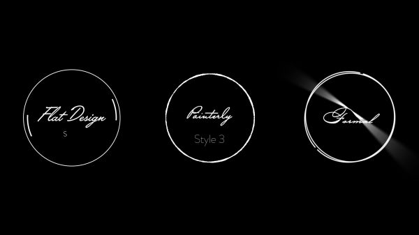 Motion Forward – Circular Wedding Titles with 3 Styles