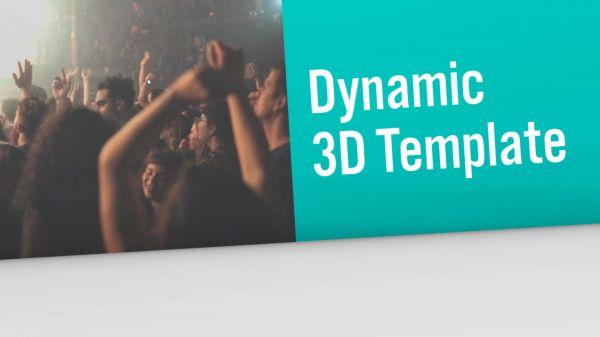 Motion Forward – Dynamic 3D Broadcast Opener