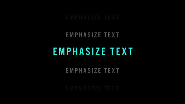 Motion Forward – Magnify Text Overlay for Premiere