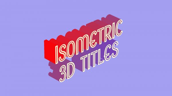 Motion Forward – Isometric 3D Pop In Titles